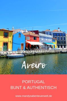 Colorful and authentic: The best Portugal travel tips for Aveiro! Hotels In Portugal, Best Beaches In Portugal, Portugal Vacation, Places In Portugal, Visit Portugal, Portugal Travel, Hotel Am Strand, Lisbon, Best Hotels