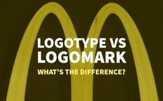 Logotype vs Logomark Design - What are the differences between logotype design and logomarks? Typography Logo, Logo Branding, Branding Design, Lettering, Logos, Clever Logo, Creative Logo, Graphic Design Books, Book Design