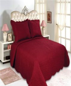 All for You Reversible Quilt Set, Bedspread, and Coverlet-Highly recommend measuring bed, size may run different sizes-Burgundy color ( full/queen with standard pillow shams) King Quilt Sets, Queen Quilt, Suites, Space Furniture, Burgundy Color, Color Red, Quilt Bedding, Bed Spreads, Pillow Shams
