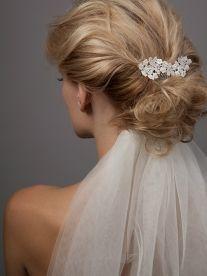 Lovebird Combs - delicate & simple| Dee Dee Bridal handmade vintage inspired bridal veils, headdresses & accesssories Xx