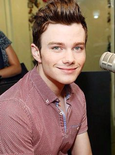 There is no adjective to describe Chris Colfer's eyes. Nope. Not one.