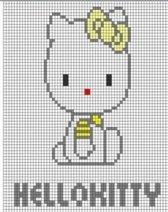 Hello Kitty intarsia sweater d if you're fluent inThis Pin was discovered by Мар Baby Boy Knitting Patterns, Knitting Charts, Knitting For Kids, Baby Knitting, Crochet Patterns, Beading Patterns, Crochet Chart, Crochet Baby, Cross Stitch Designs