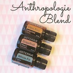 Diffuse *4 drops citrus bliss *3 drops grapefruit EO *2 drops white fir EO. Citrus bliss is invigorating and uplifting, grapefruit is cleansing to the air, and white fir provides respiratory support and balances out the sweet aroma of the citrus essential oils #aromatherapy #doterra (from ashleyjeanmarie on Instagram)