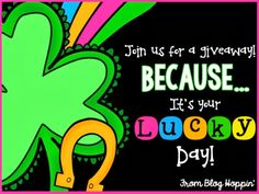 It's your LUCKY DAY Giveaway!