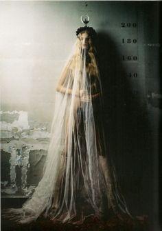 High Priestess-ish editorial fashion shoot