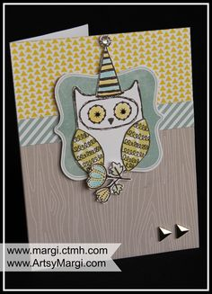 August 2014 CTMH Stamp of the Month. Cut Above Card Kit. www.margi.ctmh.com