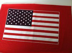 T Shirt Logo  US Flag by IdleHandsYarnSupply on Etsy, $1.50
