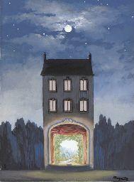 Magritte - The House (La maison) 1947
