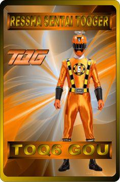 ToQ6 GOU Orange By Rangeranime