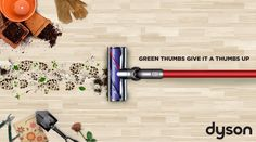 A seasonallly based social media series created for Dyson through Kohl's social channels, this pun filled line promotes their DC59 Motorhead vaccuum. This series focuses on the funny things you might find yourself vacuuming up each season! #socialmedia #advertising