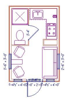 Pleasing 14X32 Tiny House 14X32H7E 567 Sq Ft Excellent Floor Plans Largest Home Design Picture Inspirations Pitcheantrous
