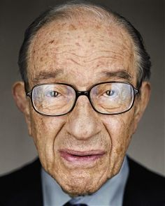 Martin Schoeller: Alan Greenspan, Close Up, 2010, Martin Schoeller Art Gallery, Martin Schoeller Pictures, Martin Schoeller Photos - New York City