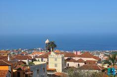 Beautiful panorama over La Orotava City from Tenerife, Spain