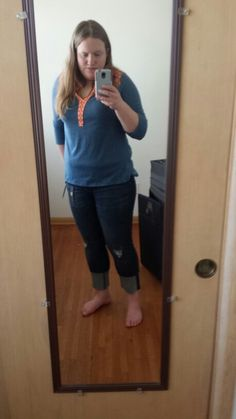 Kut from the kloth haiden distressed jeans and pixley lucia embroidered top. Love them both!