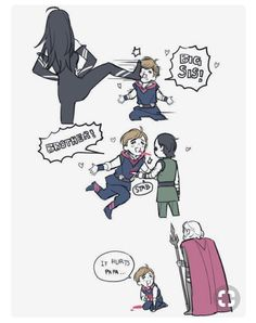 Poor Thor Thor's the middle child