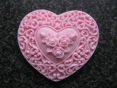 Bewerkt hart 3 | Hartjes | Just soap