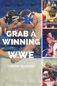 Fans of WWE wrestling brawls with all the exciting spills and thrills will love these awesome WWE wrestling throw blankets. Give the gift of one of these practical blankets, but let it remind them of their favorite wrestler or just their favorite sport.