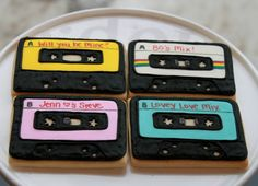 Mix Tape Cookies