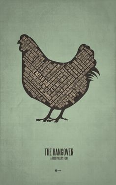 The Hangover [Todd Phillips, 2009] «Minimalist Posters by Jerod Gibson Author: Jerod Gibson»