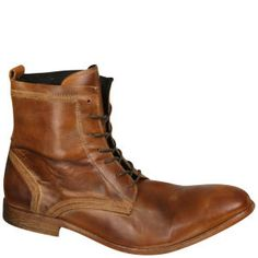 H Shoes by Hudson Men's Swathmore Calf Leather Boots - Tan: Image 3