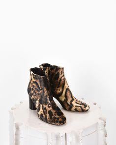 Isabel Marant RITZA leopard print ankle boots