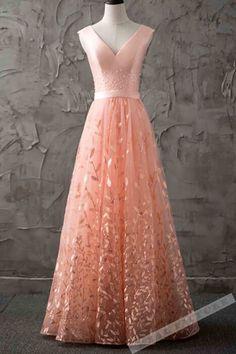 peach long prom dresses toronto