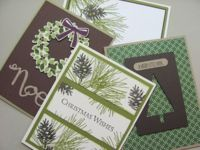 Ornamental Pine, Wondrous Wreath, Festival of Trees, Stampin' Up