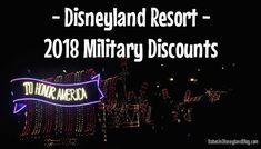 Disneyland Resort 2019 Military Discount - Babes in Disneyland Military Discounts, Disneyland Resort, Walt Disney World