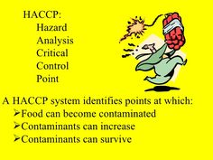 #HACCP abbreviated for Hazard Analysis of Critical Control Points. It is a management system in which food safety is measured through the control and analysis of chemical, microbiological and physical hazards. And the physical Hazards from the material production, handling to producing, distribution and consumption of the finished product. #Food_Safety_Consulting and #SQF_Consulting plays an important role in #HACCP_Certification process. http://bdfoodsafety.com/