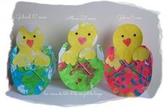 easter chick crafts (2)   Crafts and Worksheets for Preschool,Toddler and Kindergarten
