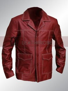 Brad Pitt Fight Club Coat Jacket