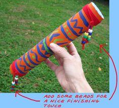 How to make a rainstick - Mt Jibbaroo Adventure™