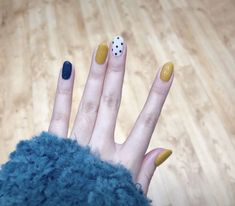 30 ideas which nail polish to choose - My Nails Spring Nail Art, Nail Designs Spring, Cute Nail Designs, Spring Nails, Autumn Nails, Uñas Fashion, Nail Polish, Halloween Nail Art, Nail Decorations