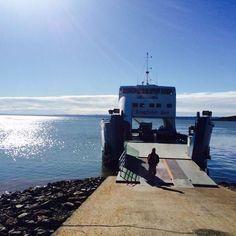 Photo taken at Hervey Bay by Daniel B. on 8/16/2014