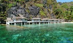 Traveling to the Philippines - Palawan is a MUST to SEE. It is here in Palawan - El Nido where you can find three tropical dream island l. Palawan Island, El Nido Palawan, Resorts In Philippines, Philippines Travel, Dream Vacations, Vacation Spots, Vacation Packages, Vacation Ideas, The Places Youll Go