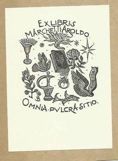 ex libris bruno da osimo | eBay