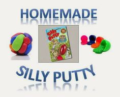 """Homemaking for real women: Wacky Wednesday"""" Homemade SIlly Putty """""""
