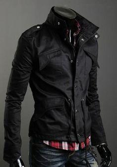 Lapelled Collar Jacket