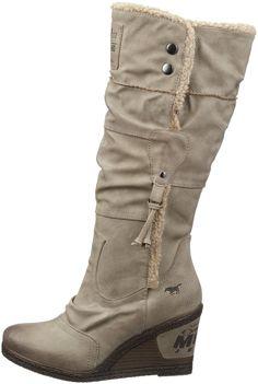 Mustang Stiefel Damen Langschaft Stiefel: Amazon.de: Schuhe & Handtaschen