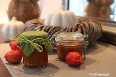 Kürbisbutter - Pumpkin Butter Rezept auf dem Blog unter: www.tastearound.blogspot.de