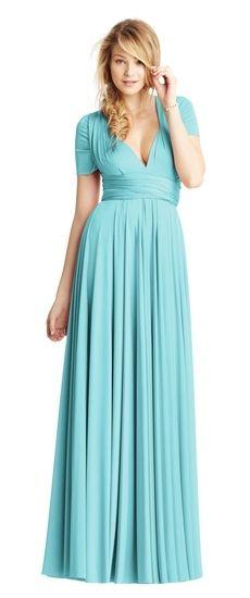 Zoe Jersey Kleid aus Heather von Twobirds Brautjungfern Party ...