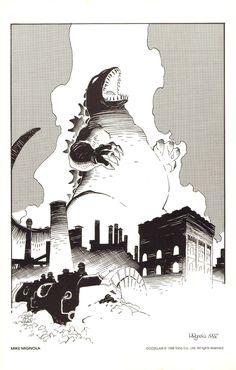 Godzilla - Mike Mignola '87