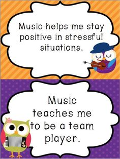Update on I Give a Hoot About Music Bulletin Board Kit