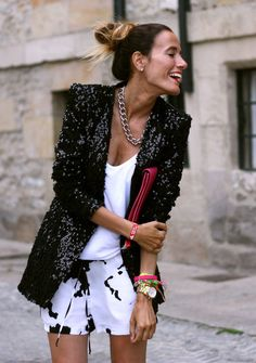 Street Fashion Trends 2013 | Fall 2013 Trend: Black and White Street Style Fashion - Fashion Diva ...