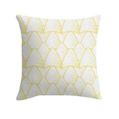 """""""Shards Yellow"""" Cushion http://www.redbubble.com/people/angeflange/works/14722679-shards-yellow?p=throw-pillow"""