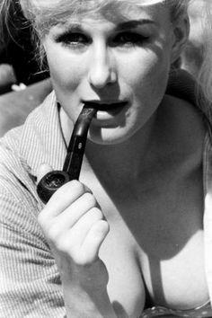 The ladies like a good smoke as well...