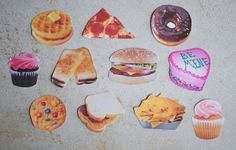 Food Stickers Set 4