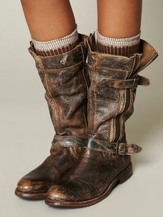 Bed Stu Cafe Racer Boot at Free People Clothing Boutique