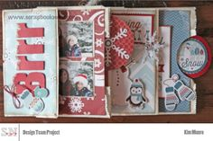 Awesome Paper bag book Tutorial by Kim scrapbooknerd.com My Scrapbook, Scrapbook Layouts, Scrapbooking, Paper Bag Books, How To Introduce Yourself, Nerd, Paper Crafts, Create, Holiday Decor
