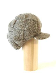 Warm knitted Newsboy hat with short cute trendy visor winter warm for women $9.95 #bestseller